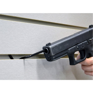 Slatwall Snipers - Gun Display Wall Mounts - gun shops, handgun pistol display, gun wall organizer, slatwall guns