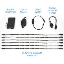 led light kit included parts