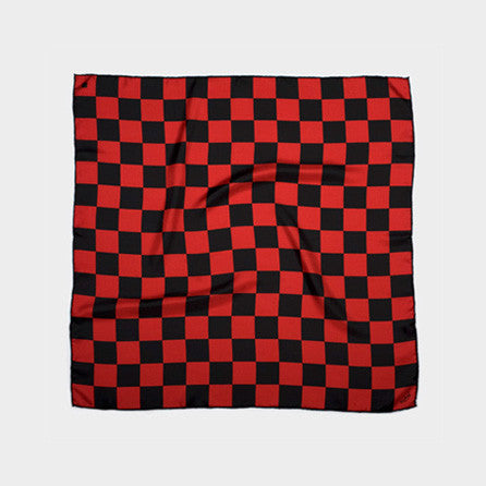 Bandit Damier Black & Red