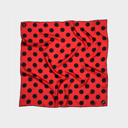 Bandit Polka Black & Red