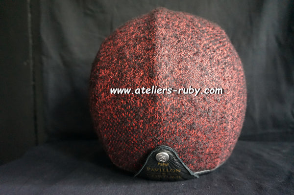 Pavillon Costume Tweed Bordeaux