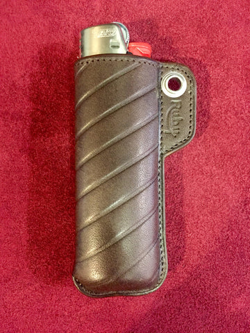 "Etui briquet ""BARON"" Marron"