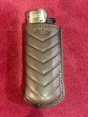 "Etui briquet ""BARON""Small Marron"