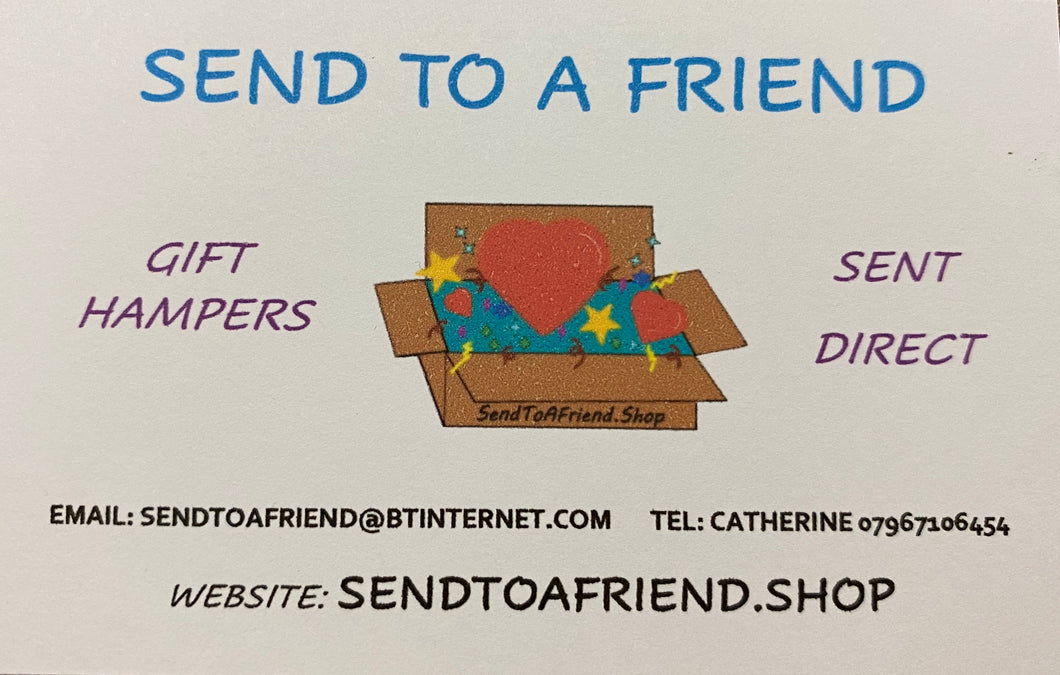 Gift card Voucher - Send to a Friend UK