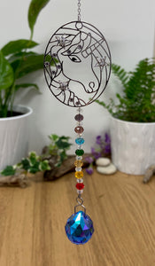 Suncatchers - bees, home, unicorn & Angels - Send to a Friend UK