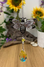 Load image into Gallery viewer, Suncatchers - bees, home, unicorn & Angels - Send to a Friend UK