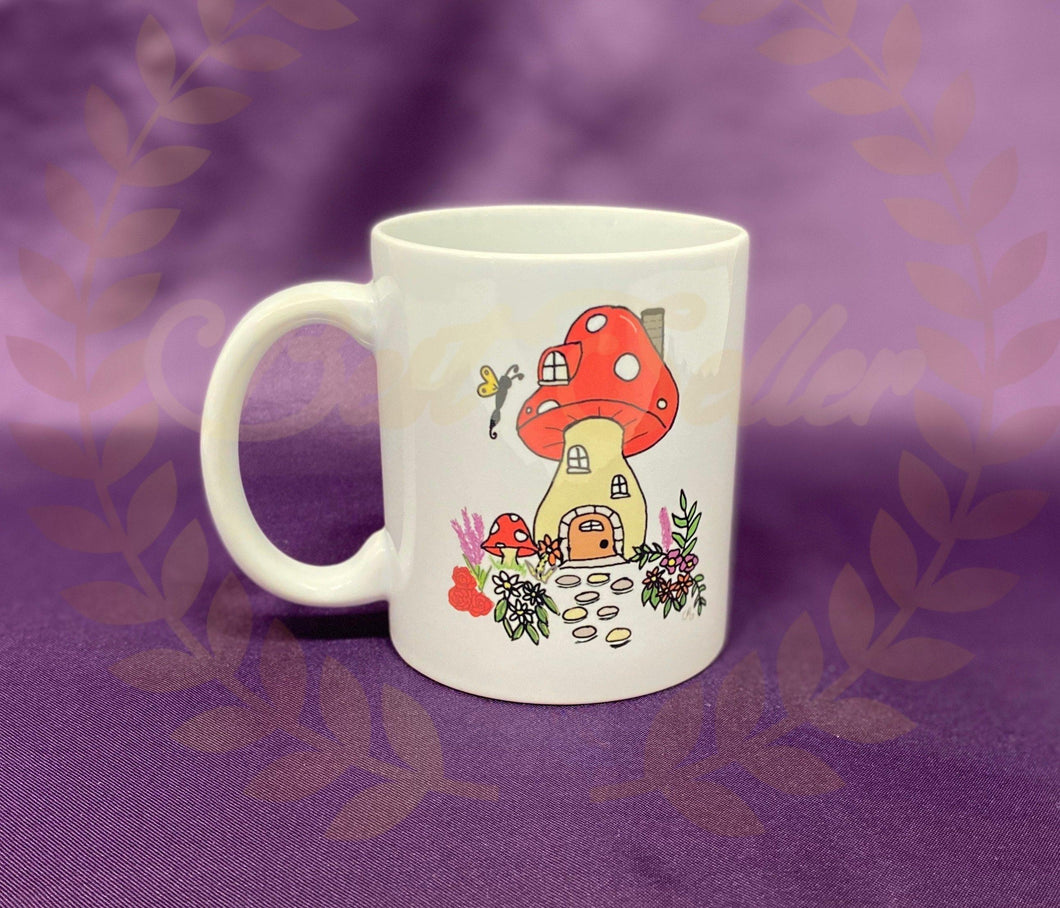 Toadstool Mug - Send to a Friend UK