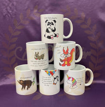 Load image into Gallery viewer, ANIMAL themed mugs UK POSTAGE INCLUDED - Send to a Friend UK