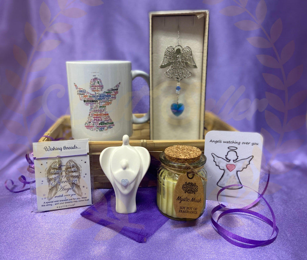 GUARDIAN ANGEL themed gift hamper - Send to a Friend UK