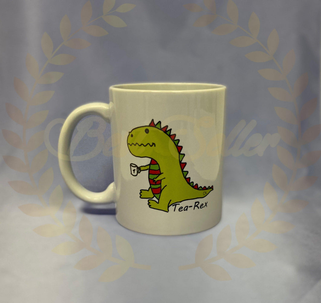 Dinosaur Tea-Rex Mug - Send to a Friend UK