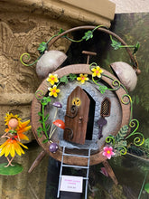 Load image into Gallery viewer, ALARM CLOCK FAIRY HOUSE - Send to a Friend UK