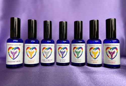 Channeled Aura Mist with free positivity card - Send to a Friend UK