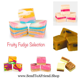 Bite size Fudge mini gift pouch
