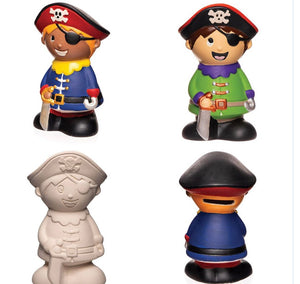 Paint your own PIRATE Money Box FREE UK POSTAGE - Send to a Friend UK