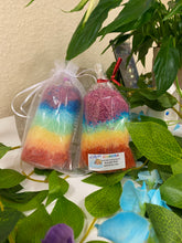 Load image into Gallery viewer, RAINBOW/ CHAKRA BATH SALTS - a luxury blend