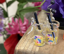 Load image into Gallery viewer, Fruit in a drink Earrings