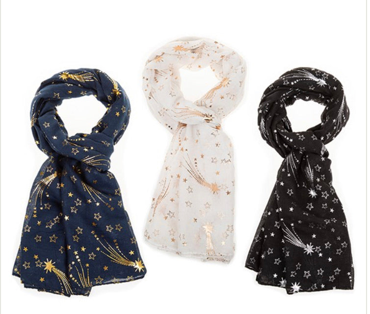 Star Scarf FREE UK POSTAGE - Send to a Friend UK