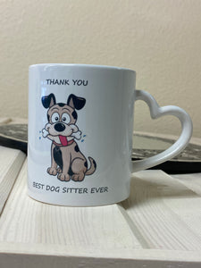Thank you Dog Mug