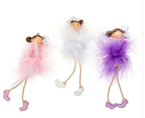 Feather Fairies Dangly Legs - Send to a Friend UK