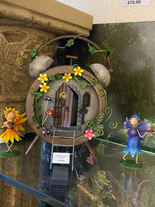 ALARM CLOCK FAIRY HOUSE - Send to a Friend UK