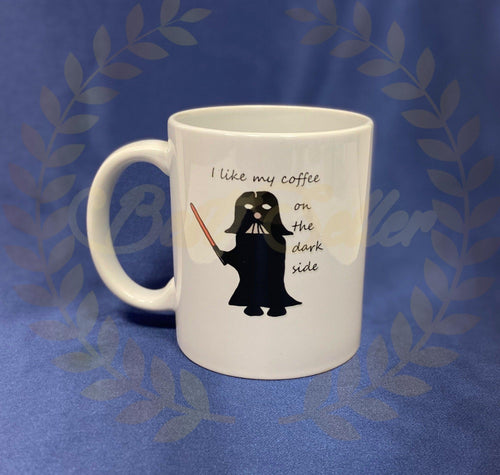 Dark side Mug - Send to a Friend UK