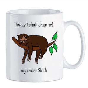 Today I shall channel my inner ....MUGS - VARIOUS DESIGNS