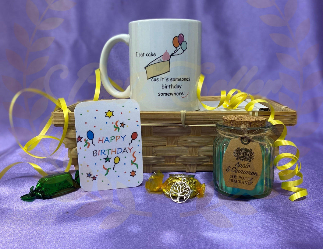 HAPPY BIRTHDAY 🎂 themed gift hamper - Send to a Friend UK