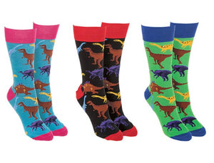 Socks - Dinosaur themed FREE UK POSTAGE - Send to a Friend UK