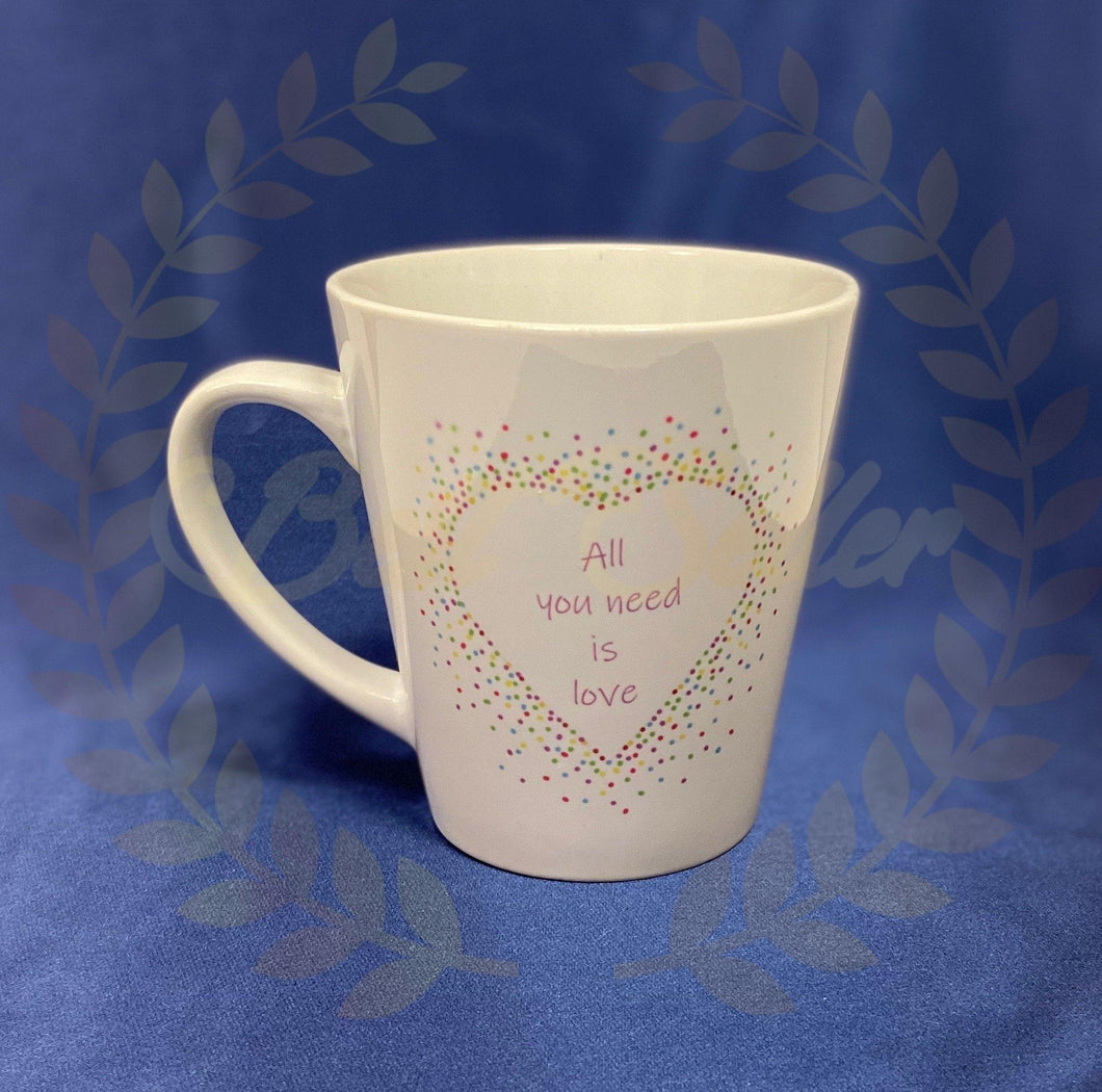 All you need is love Mug - Send to a Friend UK