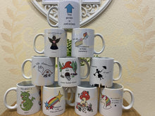Load image into Gallery viewer, Mugs - uniquely designed by us UK POSTAGE INCLUDED - Send to a Friend UK
