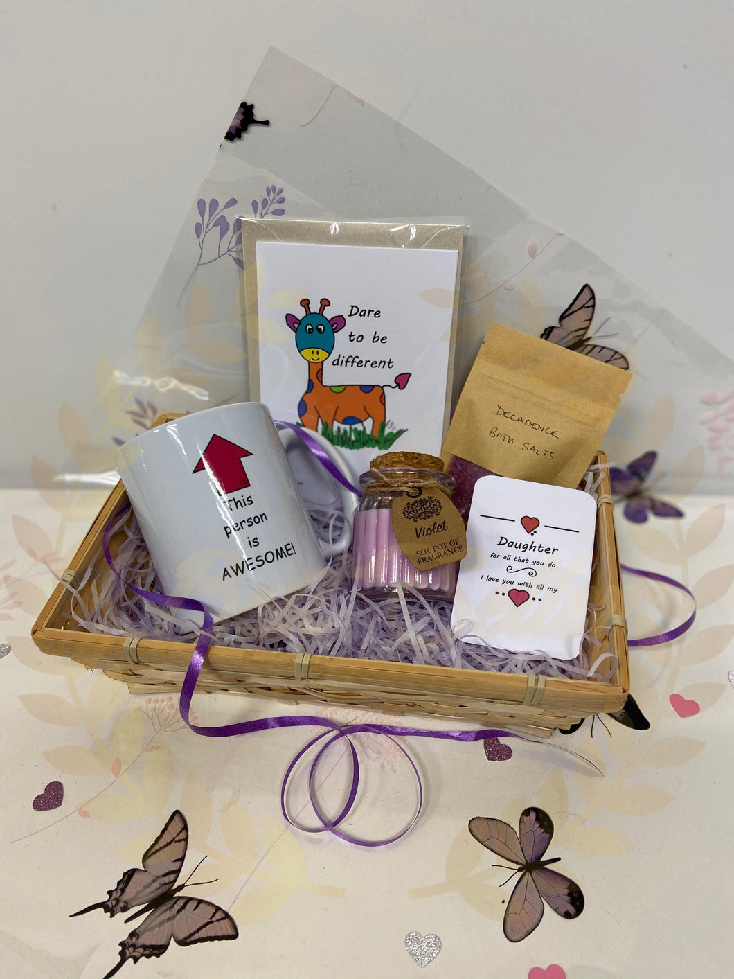 DAUGHTER gift hamper - Send to a Friend UK