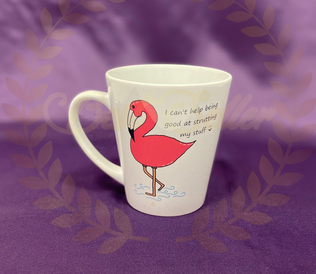 Flamingo Mug - Send to a Friend UK