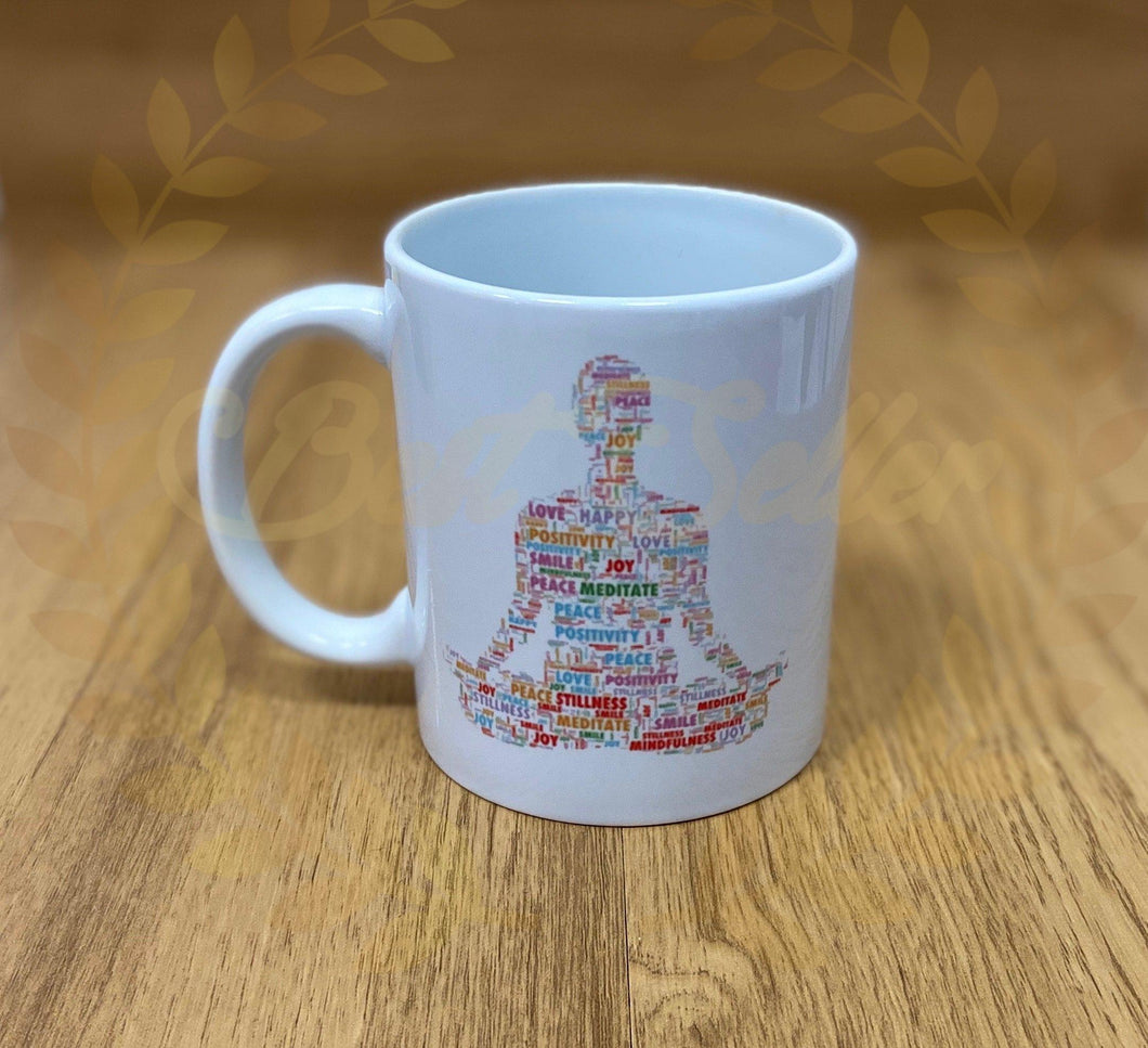 Meditation/Yoga Mug - Send to a Friend UK