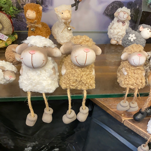 SHEEP with dangly legs (larger of the two versions)