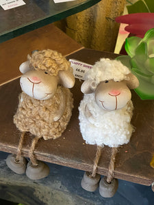 SHEEP with dangly legs - Send to a Friend UK