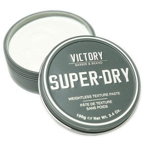 VICTORY BARBER BRAND SUPER-DRY PASTE