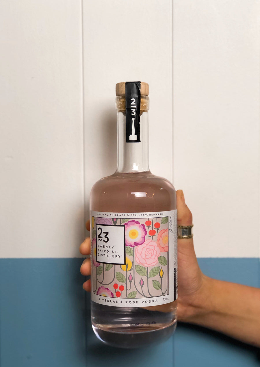 23rd Street Distillery - Riverland Rose Vodka