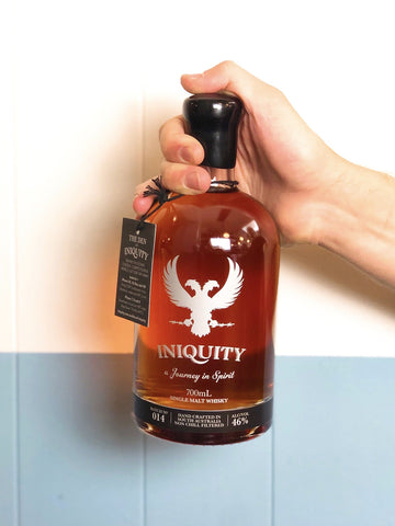 Iniquity - Batch no. 14 Single Malt Whisky