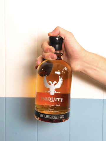 Iniquity - Batch no. 17 Single Malt Whisky