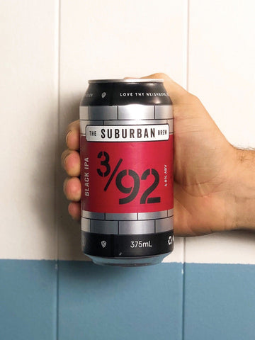 The Suburban Brew - 3/92 Black IPA