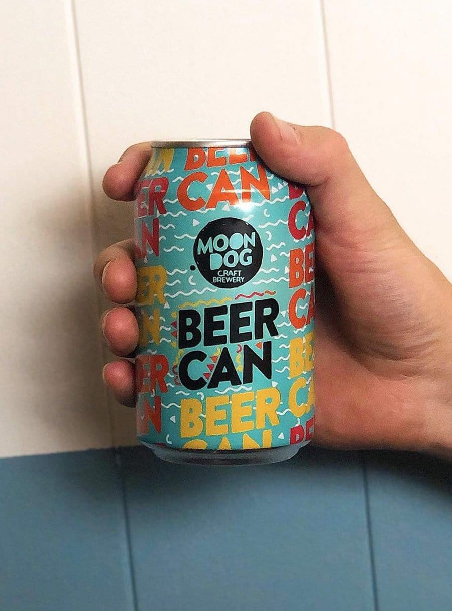 Moon Dog - Beer Can