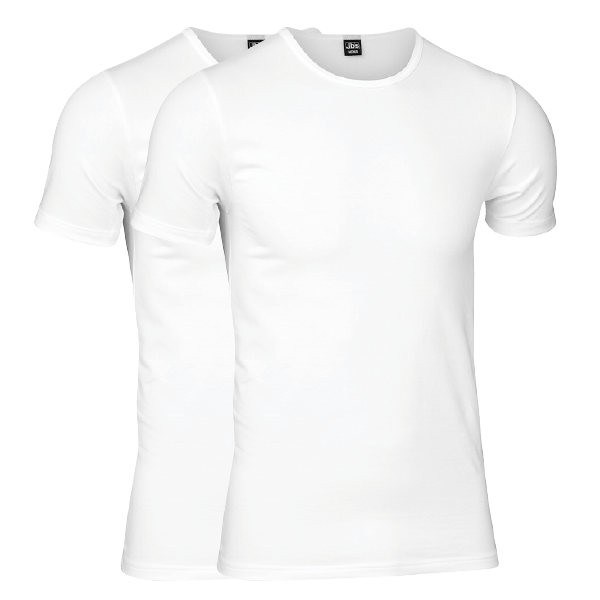 JBS T-shirt 2 pack - White