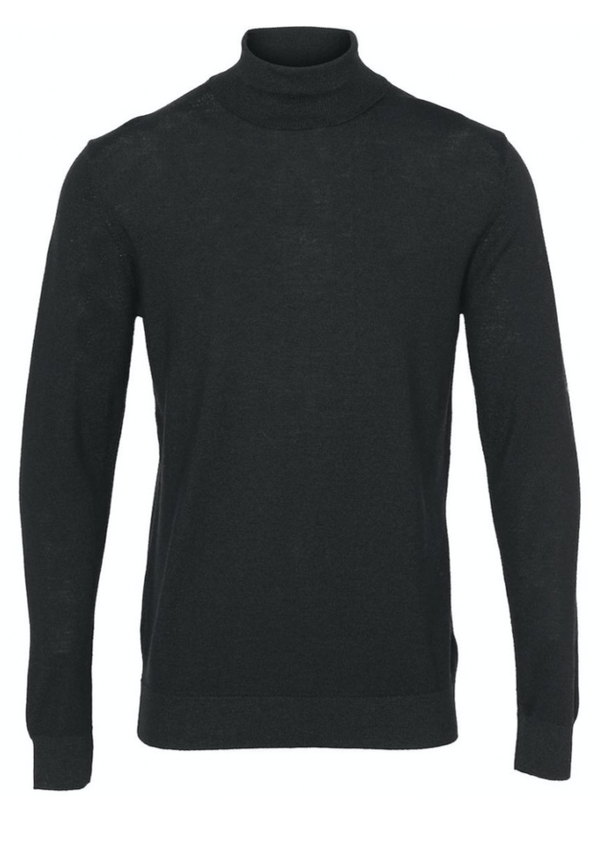 Clean Cut Copenhagen Merino Wool Roll - Black