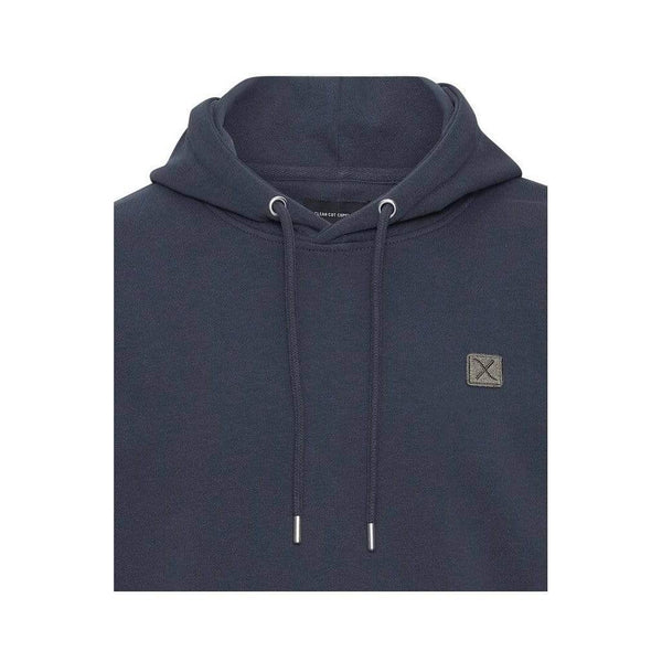 Clean cut Copenhagen Basic Organic Hood Navy