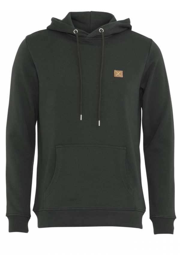 Clean cut Copenhagen Basic Organic Hood Green