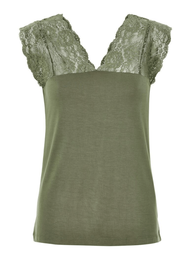 Culture Elona Top - Green