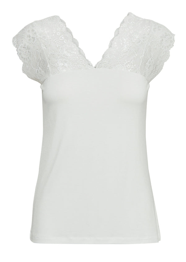 Culture Elona Top - White