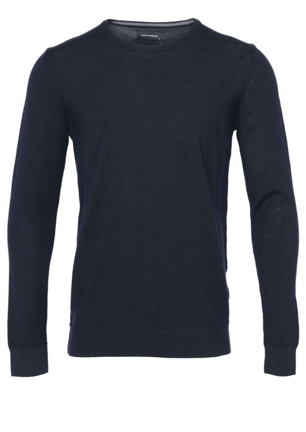Clean Cut Copenhagen Merino Wool Crew - Navy