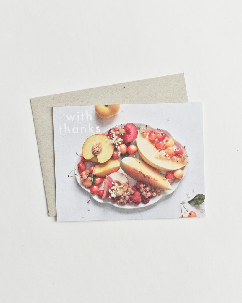 Fruitful Thanks Card