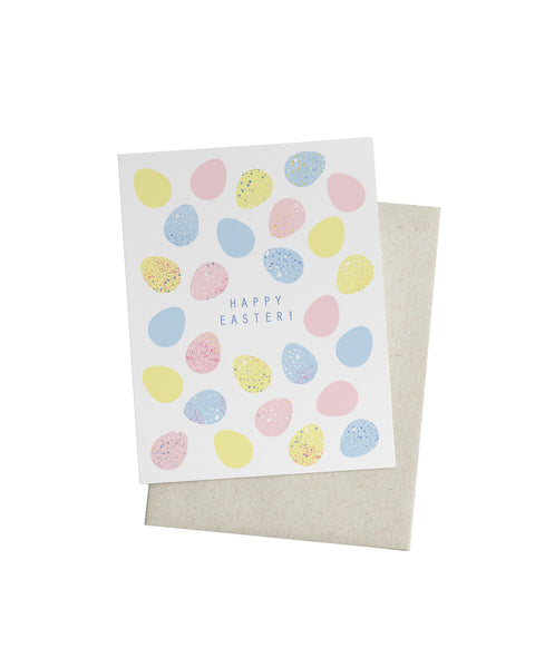 Speckled Eggs Card